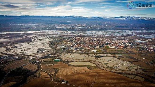 Calahorra tramita la solicitud de zona catastrófica para las huertas del Ebro