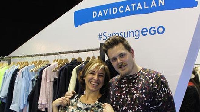 Con Mercedes en la Fashion Week