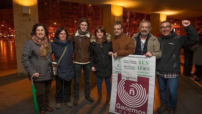 Podemos se integra finalmente en la candidatura municipal de Ganemos Logroño