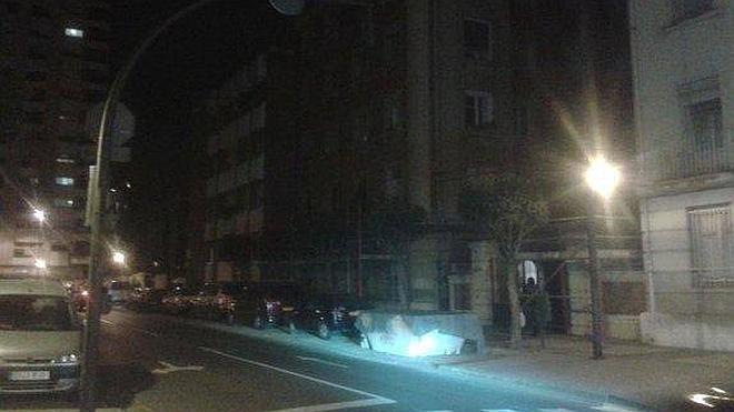 La oscuridad de la calle Padre Claret