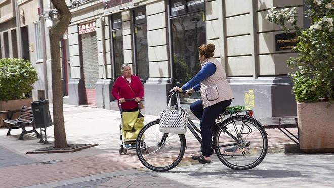 Menos multas, más carril bici