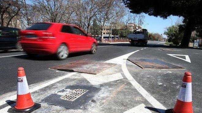 Un remate de asfaltado con 'sobresaltos'