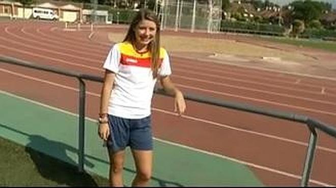 La logroñesa Elba Parmo representará a España en los Juegos Olímpicos de la Juventud