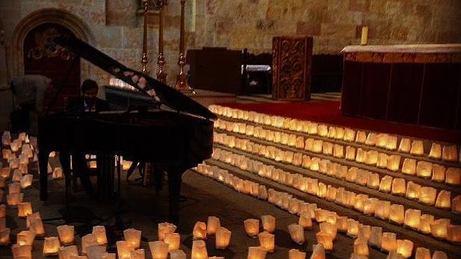 Una cita con David Gómez a la luz de las velas