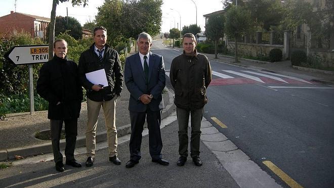 Casi un millón en arreglos de las carreteras de la comarca de Haro