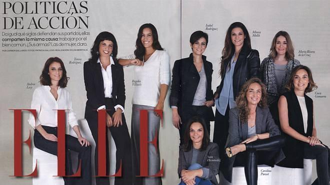 El 'glamour' de Cuca Gamarra