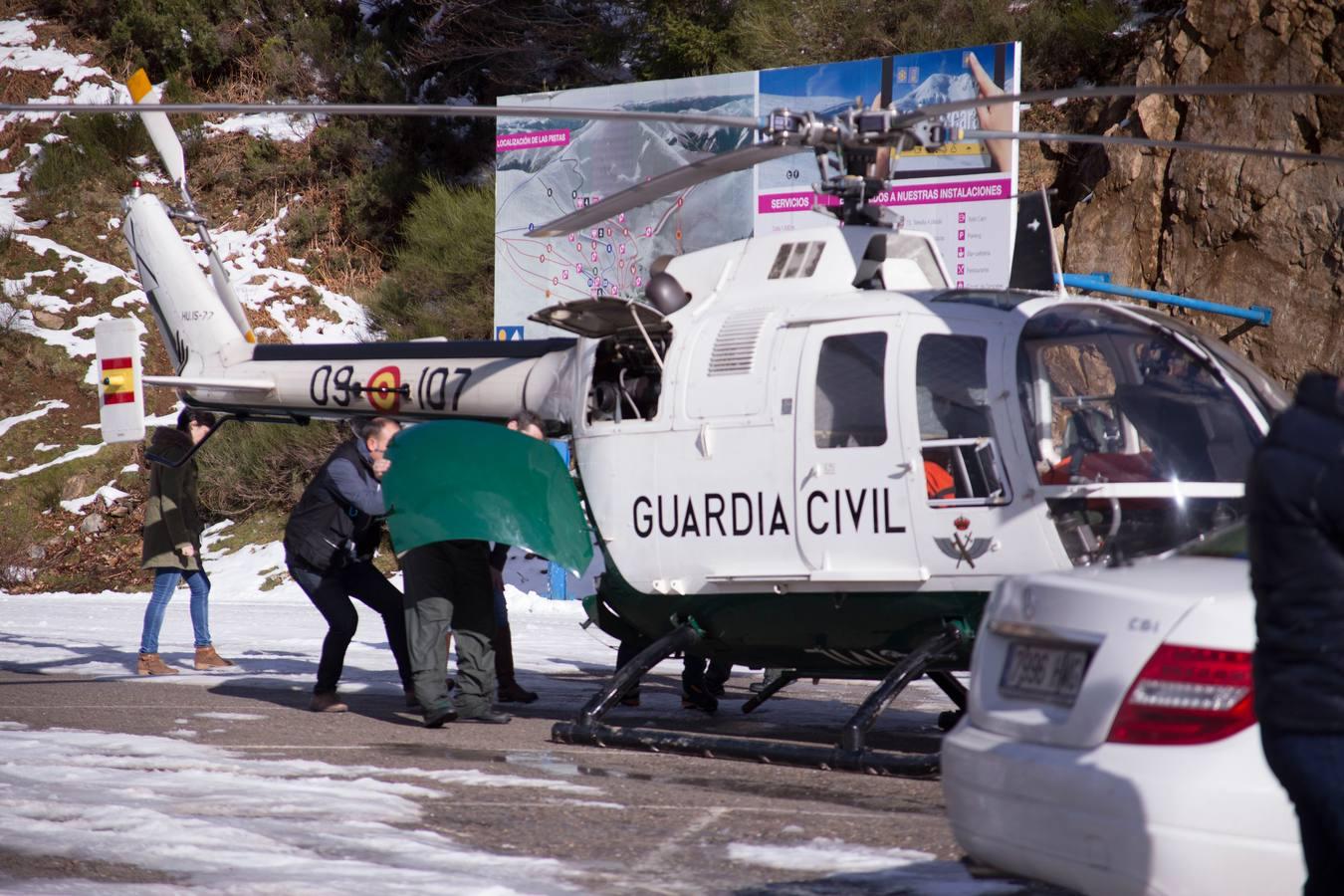 Fallece un hombre de 29 años junto a la estación de esquí de Valdezcaray