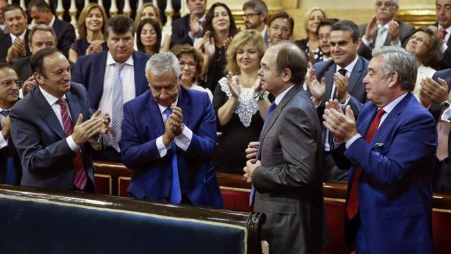 Pedro Sanz, reelegido vicepresidente del Senado