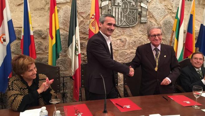 UR y RACEF firman un convenio de cooperación científica
