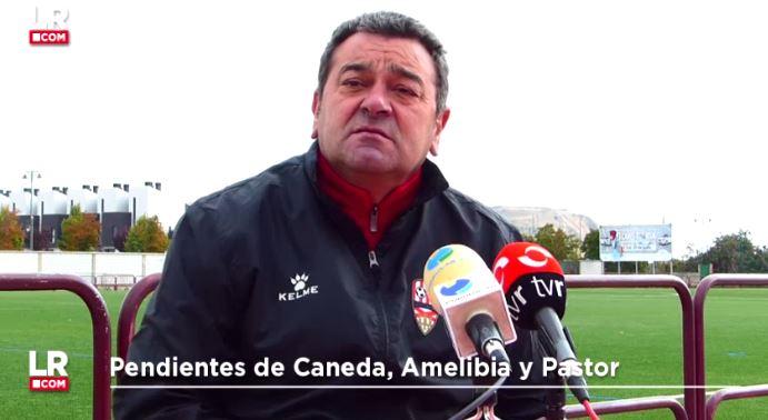 «A día de hoy, Caneda y Amelibia no están al 100%»