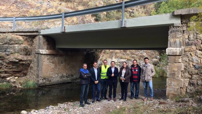Fomento repara los seis puentes de las Viniegras