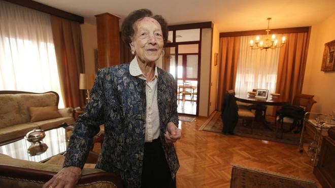 La abuela de La Rioja sopla una vela más