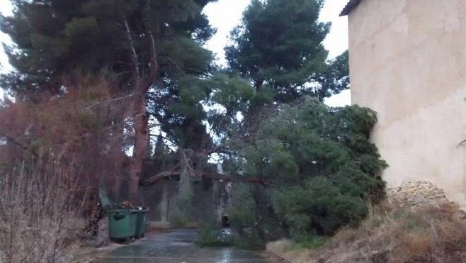El fuerte viento abandona La Rioja