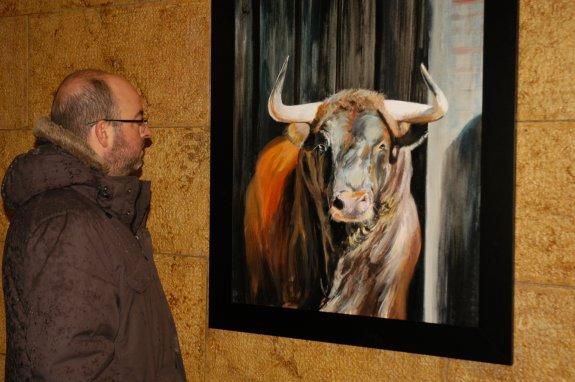 Exposición de pinturas de Albert Sesma