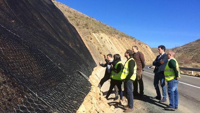 Fomento destina 47.000 euros a reparar daños por desprendimientos en Cornago y Cervera