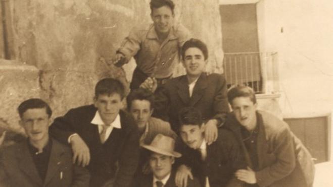 De juerga por Cervera en 1962