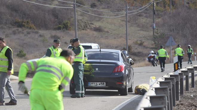 Un hombre de 91 años muere en un accidente de tráfico en Torrecilla