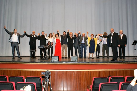 Los alumnos de Jorge Elías cantaron en Nájera