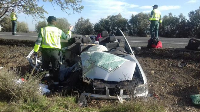 Fallece un joven de Tarrasa en un accidente en la N-232 en Calahorra