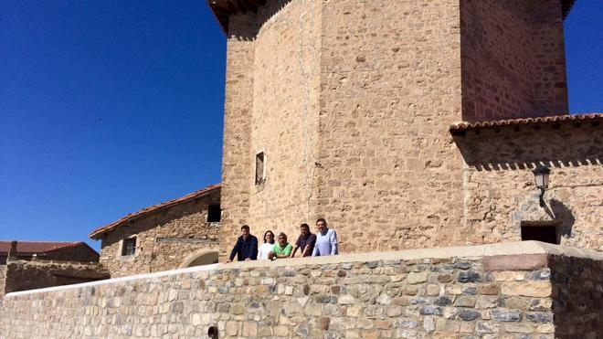 Nuevo muro de contención para la iglesia de Torre