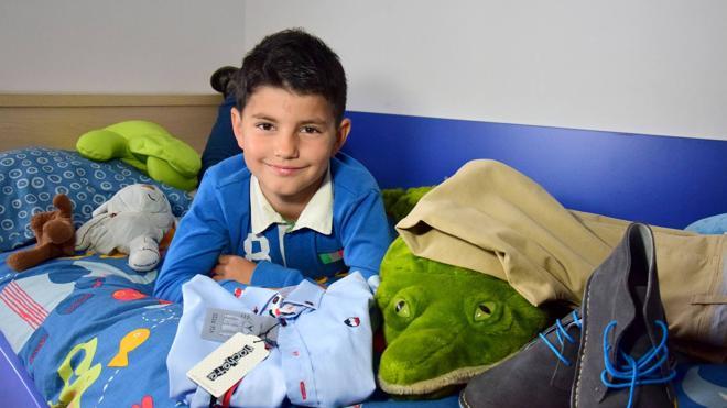 Un niño de Logroño donará sus regalos de comunión a los niños africanos