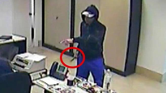 Detenido el asaltante a punta de cuchillo en sucursales bancarias de Alberite y Oyón