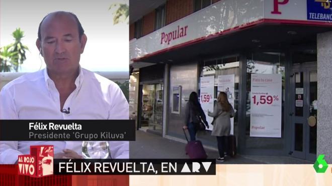 Félix Revuelta pierde 45 millones en la venta del Popular