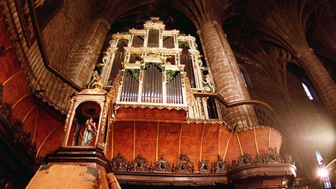 La Redonda acogerá el día de San Bernabé un concierto de órgano a cuatro manos