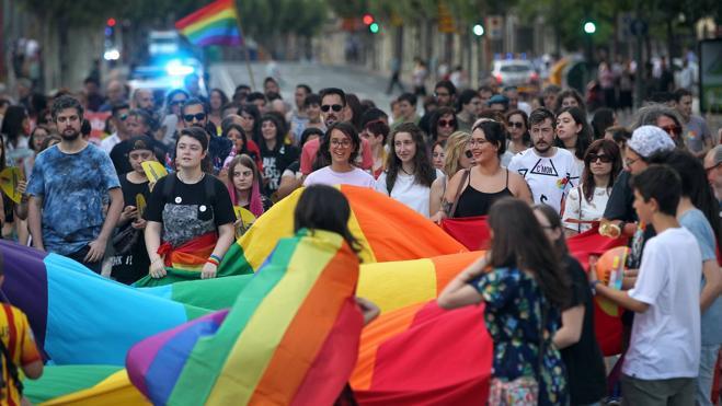El colectivo LGTBi demanda en Logroño mayor visibilidad en la sociedad riojana